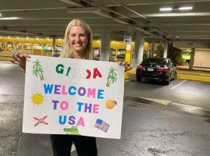 Giada welcome to the usa