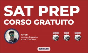SAT prep corso gratuito