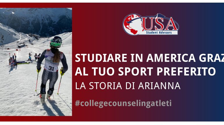 Studentessa sciatrice agonista studierà in America