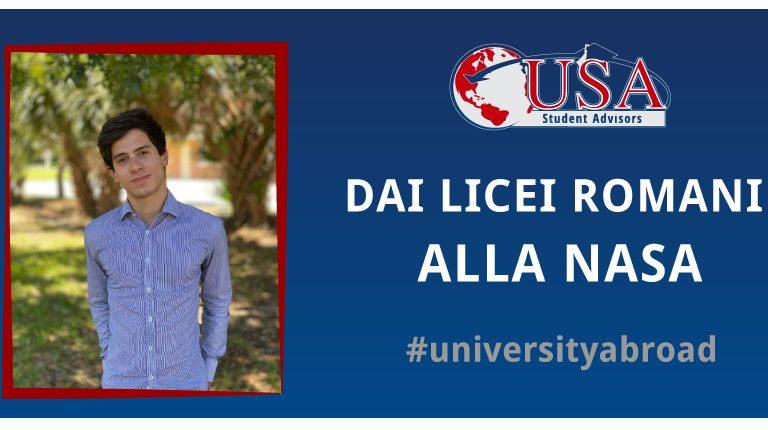 Giulio laureato in America va a lavorare alla NASA grazie a USA Student Advisors
